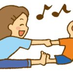 幼児と一緒に遊びながら出来る運動で筋肉つけて冷え性と中年太りにさようなら!