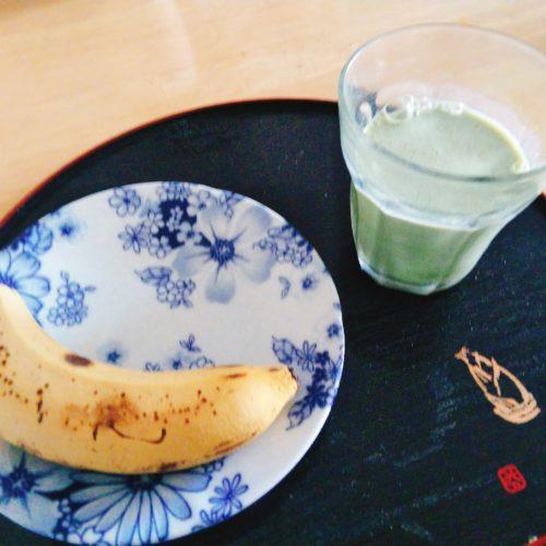 バナナとモリンガ青汁豆乳バージョン