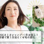 KAMIKA(カミカシャンプー)をお試し!最安値で買う方法とくせ毛の変化